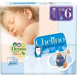 Chelino pañal infantil fashion & love t- 6 17-28 kg 27 pañales
