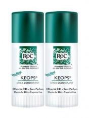 Roc keops desodorante sin alcohol stick 40 g 2 unidades duplo