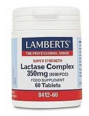 complejo de lactasa 350 mg 60 tabletas (ayudas digestivas) lamberts