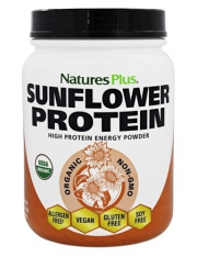 nature's plus proteina de girasol (sunflower protein) 555 g