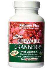 ultra cranberry 90 comprimidos masticables nature's plus