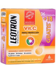 LEOTRON VITAMINA C 36 COMPRIMIDOS + 18 GRATIS