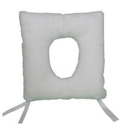 Cojin cuadrado agujero antiescaras ortotex