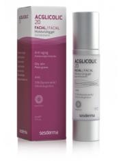 acglicolic 20 gel facial hidratante 50 ml sesderma