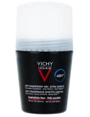 vichy homme desodorante bola piel sensible 50 ml