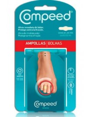 Compeed ampollas dedos pies 8 apositos