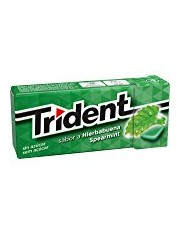 CHICLE TRIDENT FRESH HIERBABUENA SIN AZUCAR 14,5 G