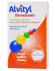 ALVITYL 30 COMPRIMIDOS EFERVESCENTES