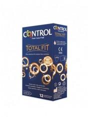 preservativos control total fit 12 unidades