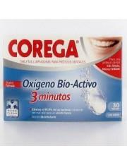 Corega oxigeno bio 3 minutos 30 tabletas efervescentes