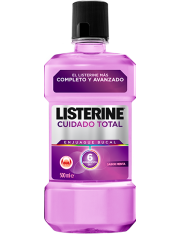 LISTERINE CUIDADO TOTAL 500 ML