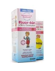 PACK FLUOR KIN INFANTIL ENJUAGUE BUCAL 500ML + PASTA INFANTIL 50ML