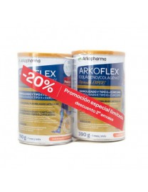 ARKOFLEX COLAGENO FORMULA EXPERT CURCUMA SABOR NARANJA DUPLO 2X 390 G