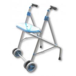 Andador ruedas asiento forta ara-c azul PRIM
