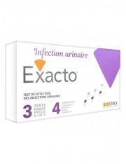 EXACTO 3 TEST INFECCIONES URINARIAS
