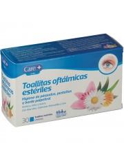 Toallitas oftalmicas esteriles CARE+30 toallitas