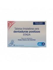 30 tabletas limpiadoras dentaduras postizas stada