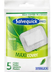 Salvelox med maxi cover aposito esteril 5 apositos 76 mm x 54 mm