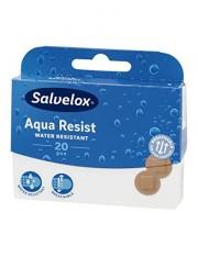 Salvelox apositos plastico aqua resist redondos 20 tiritas