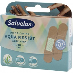 Salvelox apositos aloe vera plastico aqua resist 16 tiritas