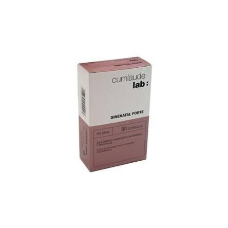 Cumlaude lab: ginenatal forte 30 capsulas