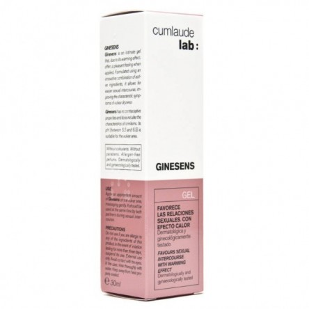 Cumlaude lab: ginesens gel 30 ml