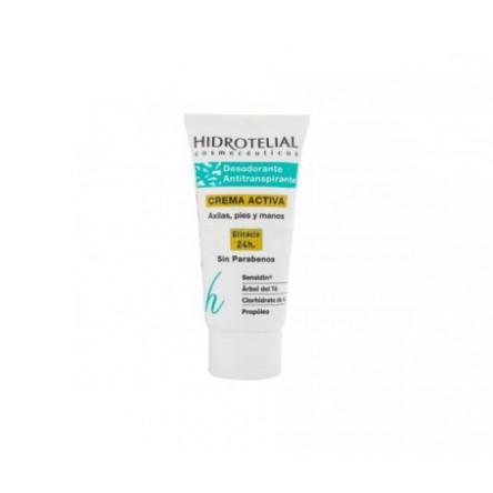 Hidrotelial desodorante antitraspirante crema 50 ml