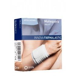Muñequera innova farmalastic blanca talla pequeña/mediana (muñeca 12-17 cm) cinfa