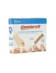 COMFORSIL TUBO PROTECTOR ELASTICO CON GEL EN SU INTERIOR DE 15 CM 2.5 CM DIAMETRO 2 UNIDADES CCC253