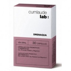 Cumlaude lab: drenaqua 30 capsulas
