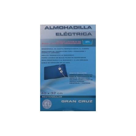 Almohadilla electrica artritis reuma ciatica dolor muscular menstrual 40x32 cm gran cruz