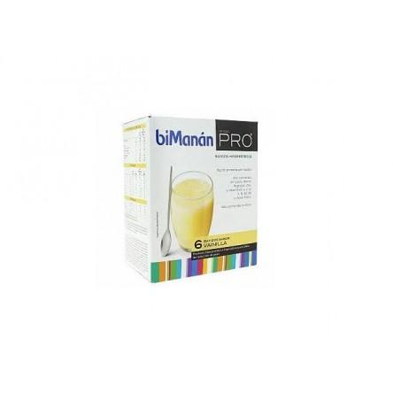 Bimanan metodo pro batido vainilla hiperproteica e hipocalorica 6 sobres