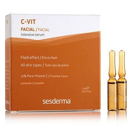 C-vit sesderma intensive serum flash 5 u 2 ml