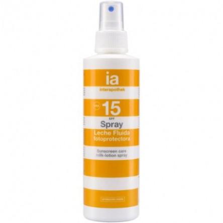 Interapothek fotoprotec spf 15 spray corporal 200 ml