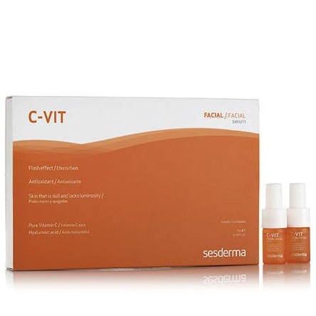C-vit sesderma serum efecto flash 7 ml 5 ampollas