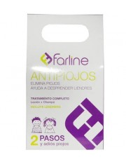 FARLINE PACK CHAMPU + LOCION PEDICULICIDA ANTIPIOJOS 200 ML