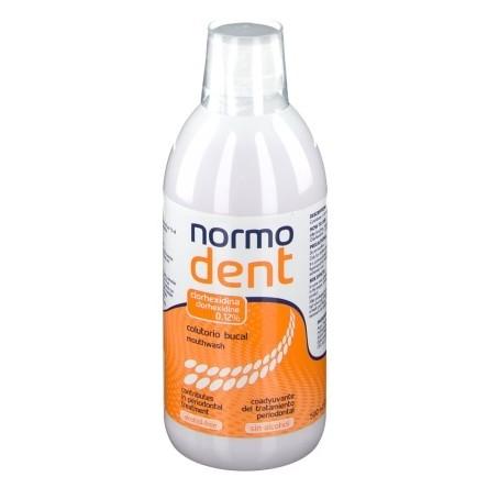 Normodent clorhexidina 0.12% colutorio 500 ml