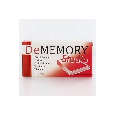 De memory studio 30 capsulas Dememory