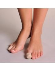 Dedil gel de silicona farmalastic dedos pequeños (diametro del dedo 2.3 cm) cinfa
