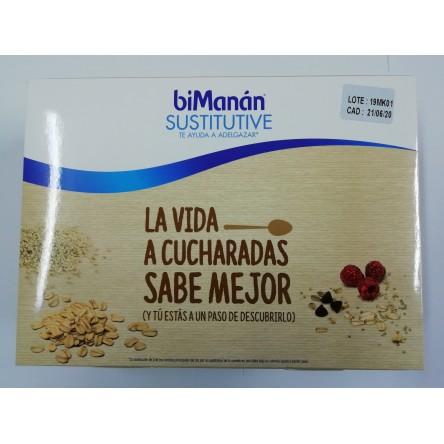 Bimanan SUSTITUTIVE 3 SOBRES CREMA AVENA Y QUINOA CON FRUTOS ROJOS Y 3 SOBRES CREMA AVENA Y CACAO CON PEPITAS DE CHOCOLATE