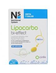 NS LIPOCARBO BI-EFFECT 60 COMPRIMIDOS BICAPA
